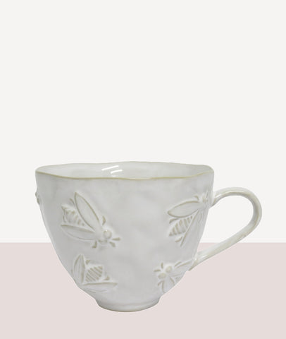 Bee Mug / Cream / Set 4