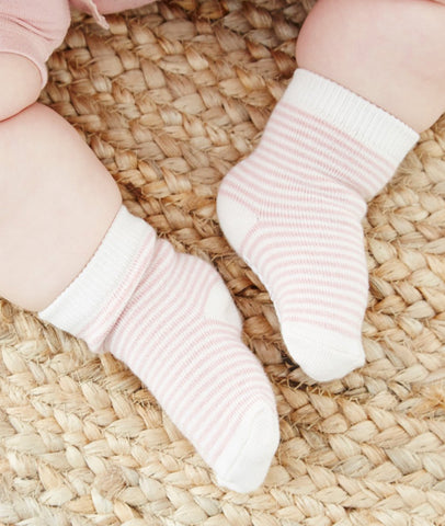 Baby Socks / Rose & Chalk / Set3 / Boody Baby