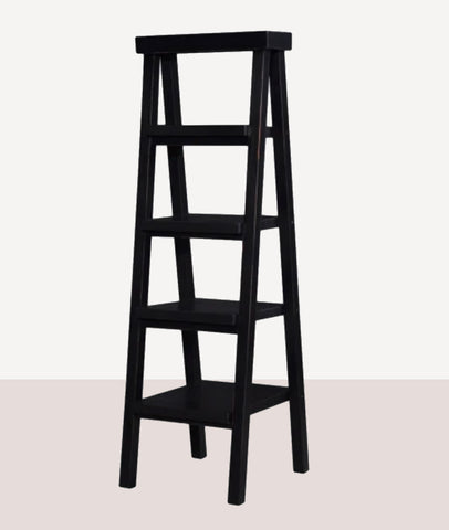 Bramble Ladder Shelf / Black