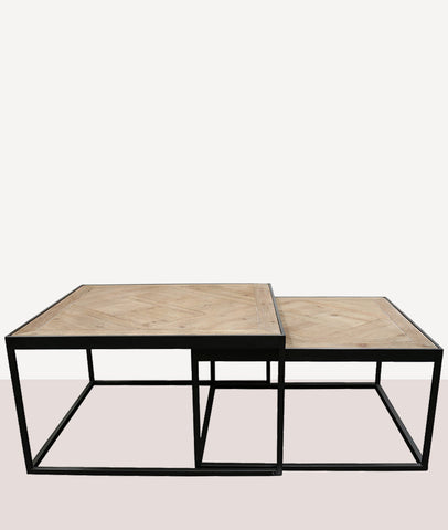 Cambridge Nesting Coffee Table / Parquet