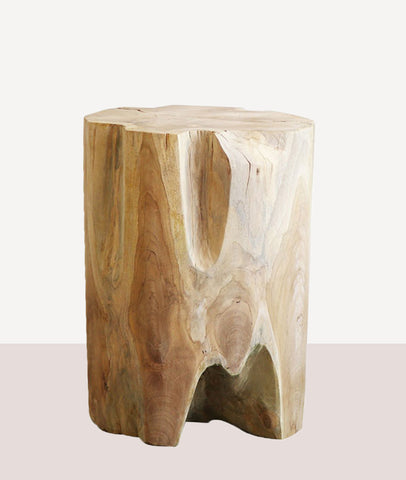 Crusoe Root Side Table / Round