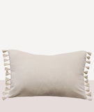 Este Cushion with Feather Inner / Nude