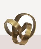 Eternity Sculpture / Brass