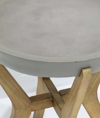 Franco Concrete Side Table *Floor Stock Slight Chip