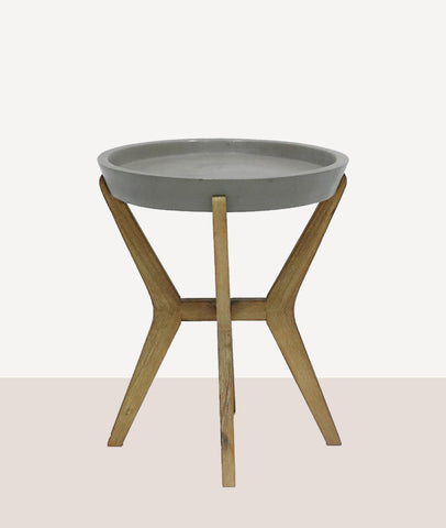 Franco Concrete Side Table