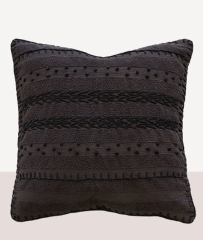 Ghana Cushion W/Feather Inner / Black
