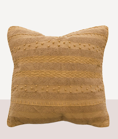 Ghana Cushion w/Feather Inner / Ochre