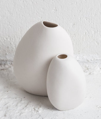 Harmie Vase / White Small