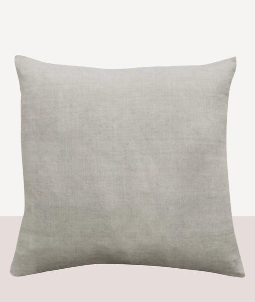 Indira Cushion w/Feather Inner / Icy Grey