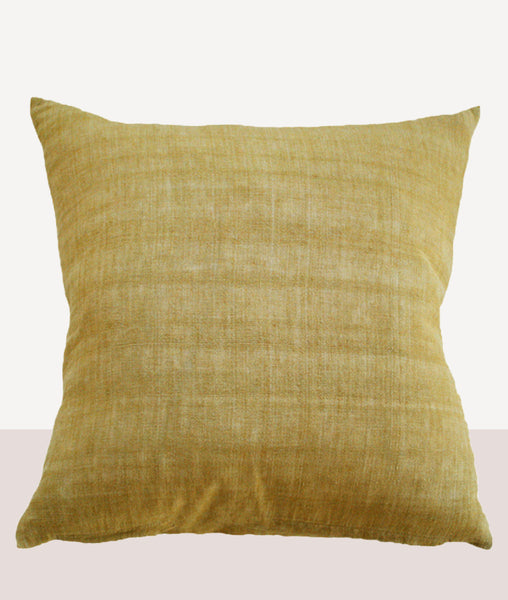 Indira Cushion w/Feather Inner / Ochre