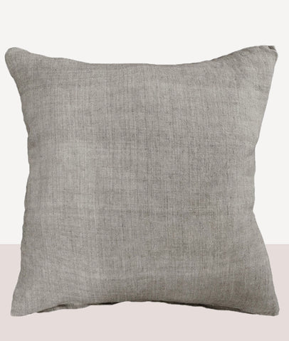 Indira Cushion w/Feather Inner / Taupe