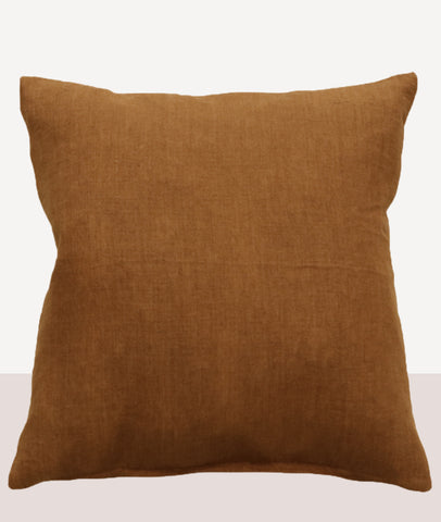 Indira Cushion w/Feather Inner / Tobacco