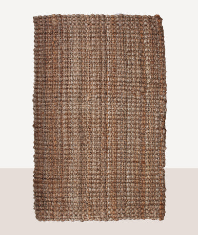 Jute Boucle Rug / Natural / ASSORTED SIZES