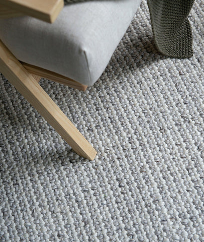 Kansas Floor Rug / Oyster & Natural