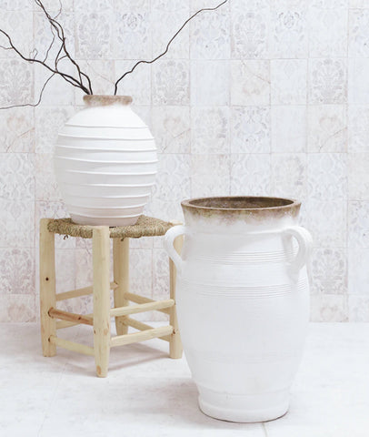 Libby Pot / White