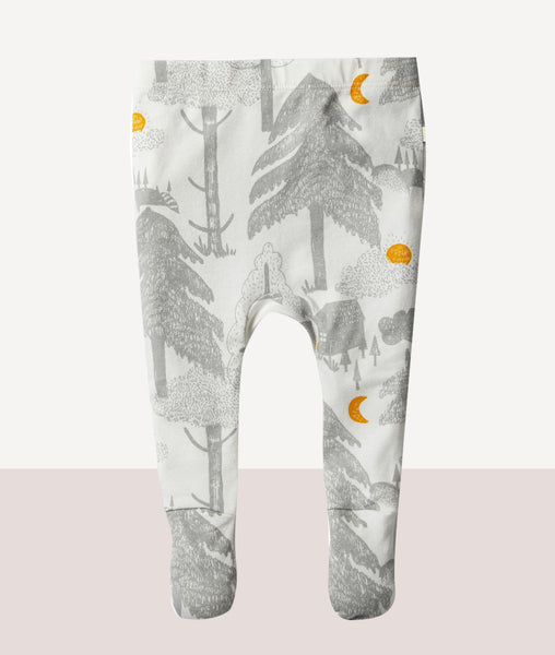 Organic Little Wander Footed Legging / Wilson & Frenchy