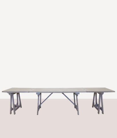 Loire Dining Table / White Wash