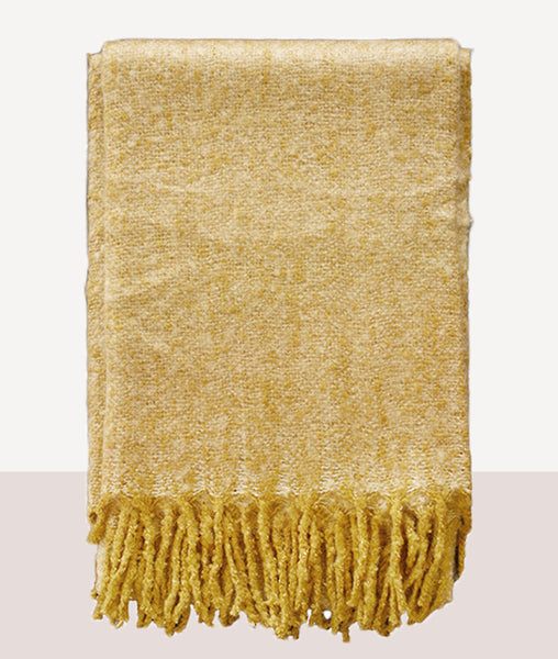 Lyford Throw / Golden Straw