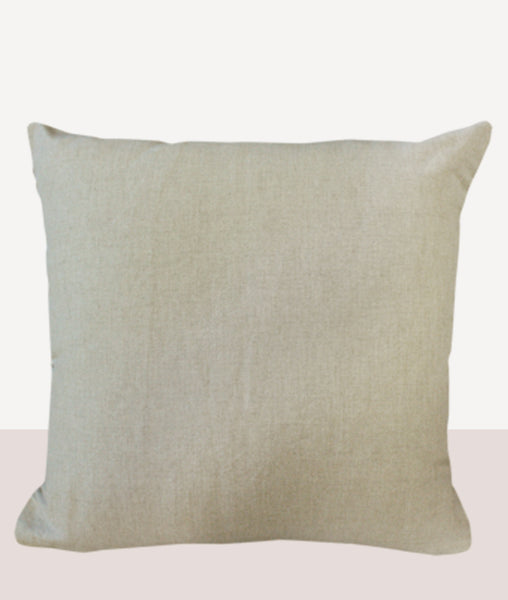 Majestic Cushion w/Feather Inner - Nutmeg 50cm