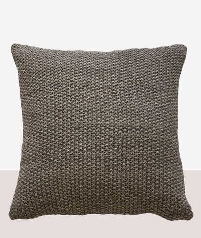 Milford Moss Stitch Cushion w/Feather Inner / Bracken