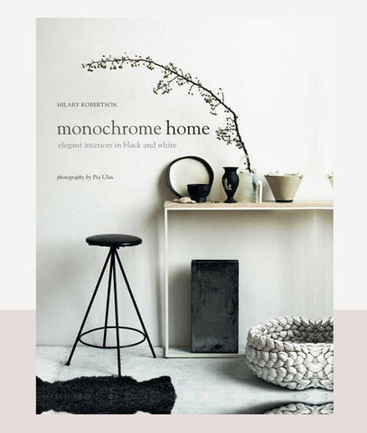Monochrome Home / Interior Book