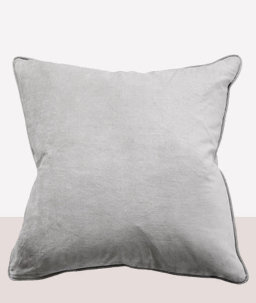 Montpellier Cushion W/Feather Inner / Steel Grey