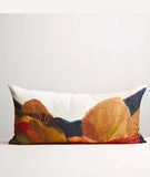 Lumbar Cushion / Painted Trees / Thread Design