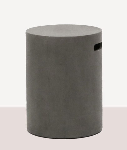 Pipe Stool Round / Concrete