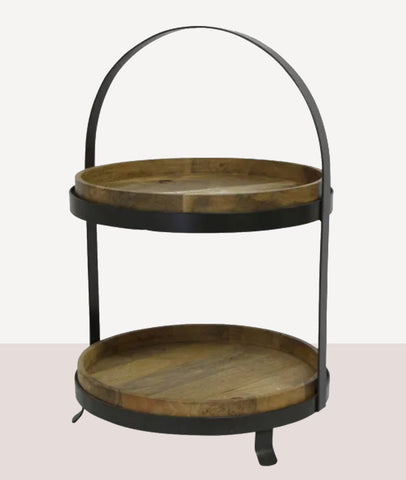Ploughmans Cake Stand / Large 2 Tier