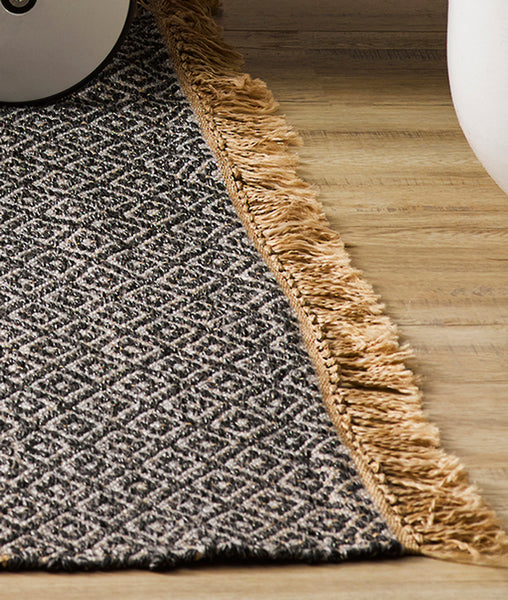 Reef Outdoor Rug / Charcoal