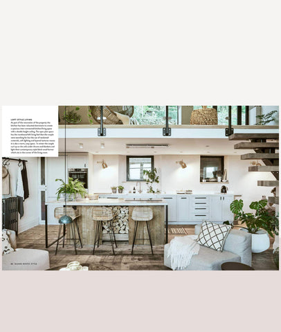 Scandi Rustic / Creating a cozy and happy home / Interior Book