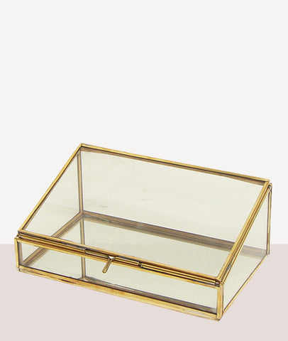 Sofia Mirror and Glass Display Box