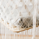 Macrame Standing Cradle / Nature King