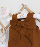 Tinker Bow Dress / Caramel / Baby Charley Co