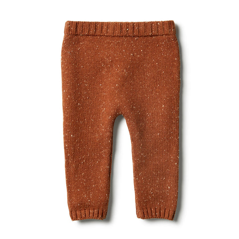Knitted Legging / Toasted Pecan / Wilson & Frenchy