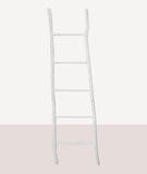 Chunky Wood Ladder / White