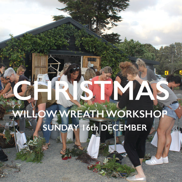 Christmas Wreath Workshop / Admission Ticket