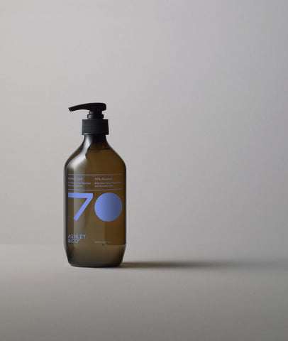 ZAP Hand Sanitiser / Peppy & Lucent / Ashley & Co