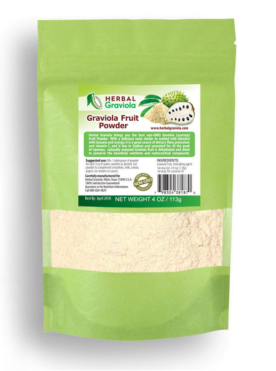 Graviola Fruit Powder - 100% Non-GMO