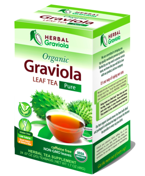 Herbal Graviola soursop Leaf Tea Organic