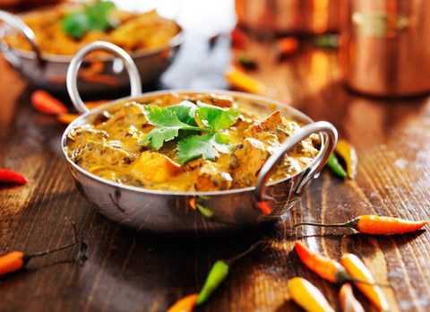 Cuisine indienne - cours 1