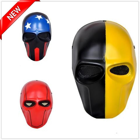 Army Biochemical Reinforced Resin Fully Adjustable War Game Masks