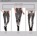NEW Unique & Original Women's Printed Leggings