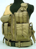 Combat Tactical Protective Military Enforcement Vests (5 Colors)