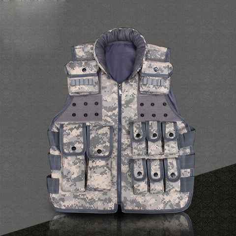 Multi-Pocket Military Style Outdoor Tactical Vest