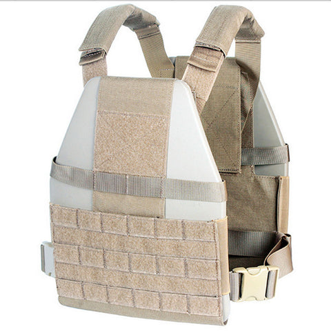 Military Style Ballistic Plate Carrier Ultralight Combat Vest