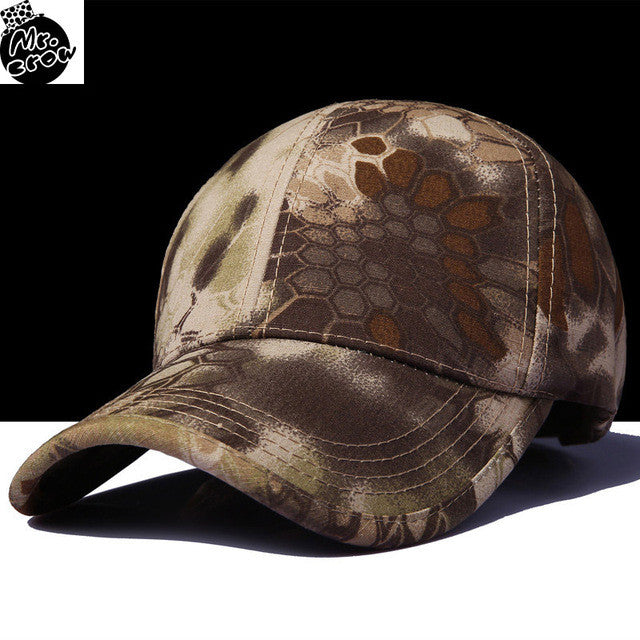 Unique Print Military Style Adjustable Baseball Caps