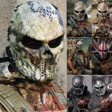 Intimidating Outdoor Skull Style Full Face Ghost Masks