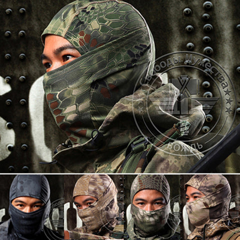Fast Dry Multi-Functional Breathable Stretch Wick Full Faced Hood Clavas
