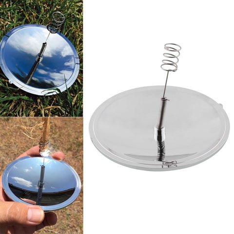 Camping Survival Solar Fire Starter Outdoor Emergency Tool